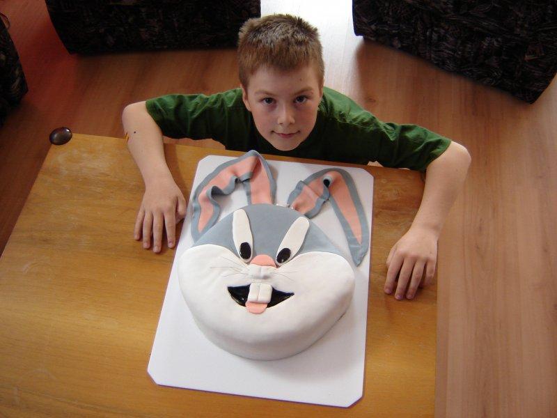 Lukášek a jeho oblíbený Bugs-Bunny