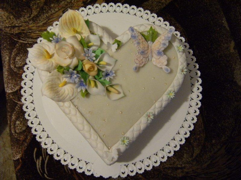 děkovací dort Anička