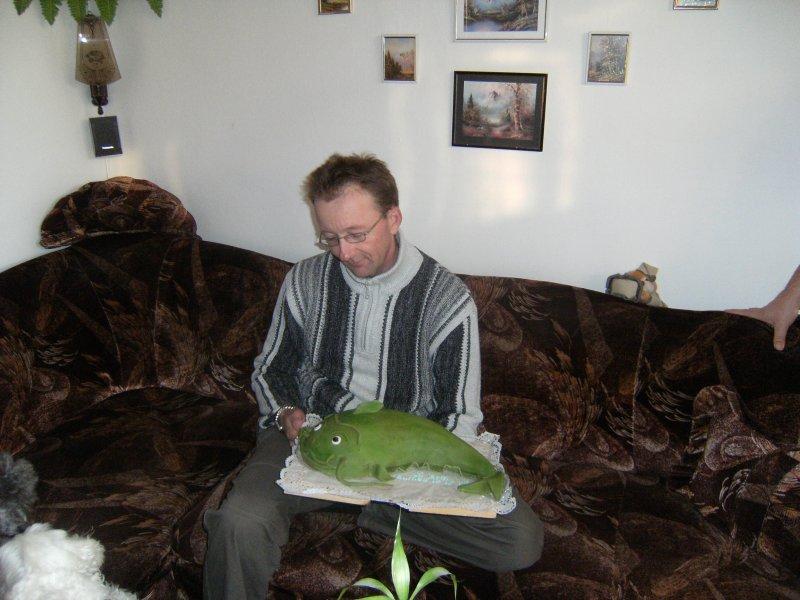Bráška 44 let snad měl i radost