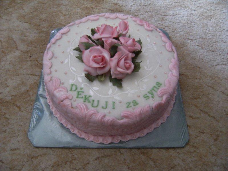 dort děkovací